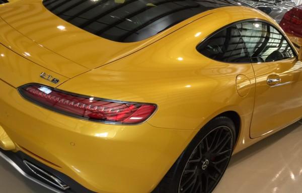 Paintless Dent Repair In Amg Mercedes